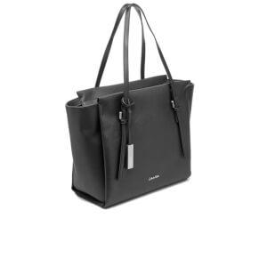 calvin klein womenu0027s marissa large tote bag black image 3 - Large Tote Bags