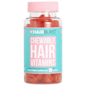 Hairburst Strawberry Chewable Vitamin - 60 капсул