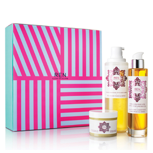 REN Luxury Moroccan Bodywash Rose Otto Collection (Worth $106)