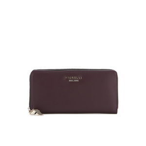 Fiorelli Women's City Zip Around Purse - Aubergine