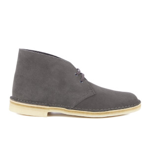 Clarks Originals Men's Desert Boots - Charcoal Suede