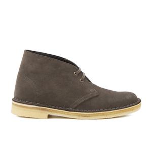 Clarks Originals Women's Desert Boots - Dark Taupe Suede