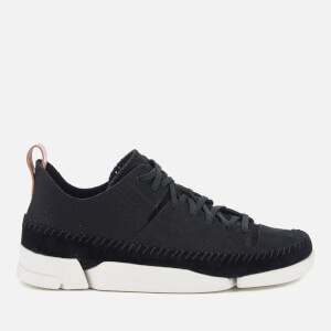 Clarks Originals Women's Trigenic Nubuck Suede Trainers - Black