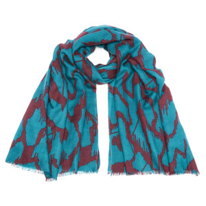 By Malene Birger Women's Talitha Scarf - New Petrol