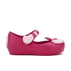 Mini Melissa Toddlers' Mini Alice Ultragirl Flats - Pink Cheshire