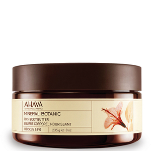 AHAVA Mineral Botanic Rich Body Butter - Hibiscus and Fig