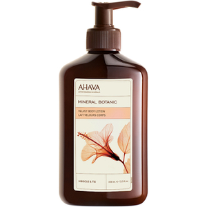 AHAVA Mineral Botanic Velvet Body Lotion – Hibiscus and Fig