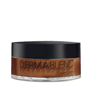 Dermablend Cover Crème Full Coverage Foundation Make-Up with SPF30 for All-Day Hydration - 80W Chocolate Brown