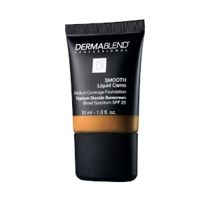 Dermablend Smooth Liquid Foundation Make-Up with SPF25 for Medium to High Coverage - 65N Café