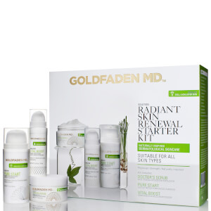 Goldfaden MD Radiant Skin Renewal Starter Kit (Worth $121)