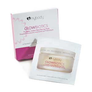 mybody GLOWBIOTICS Probiotic Instant Resurfacing Pads Travel Pack