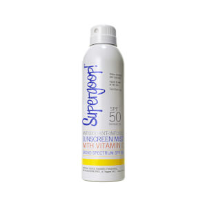 Supergoop! SPF 50 Antioxidant-Infused Sunscreen Mist with Vitamin C