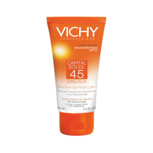 Vichy Capital Soleil SPF 45 Silk Screen Dry-Finish Lotion