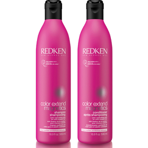 Lote de champú y acondicionador Colour Extend Magnetic de Redken 500 ml