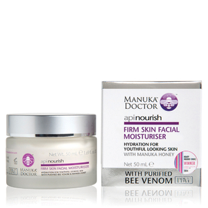 Hidratante facial reafirmante ApiNourish de Manuka Doctor de 50 ml