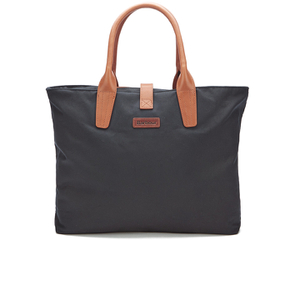 Barbour Women's Wax Shopper Bag - Navy