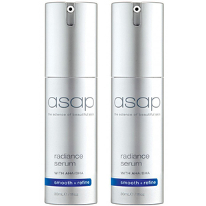 2x asap radiance serum
