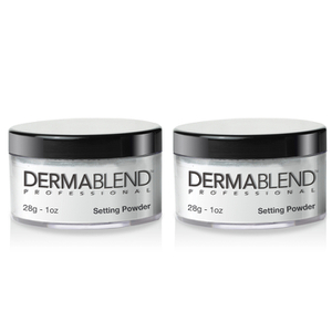 2x Dermablend Loose Setting Powder - Original