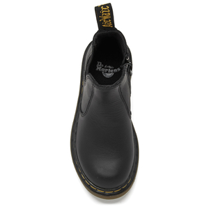 Dr. Martens Kids' 2976 J Softy T Leather Chelsea Boots - Black: Image 3