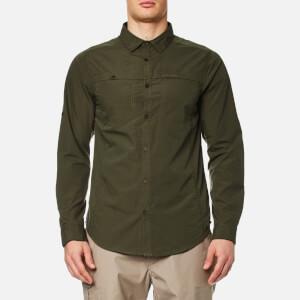 Craghoppers Men's Kiwi Trek Long Sleeve Shirt - Parka Green