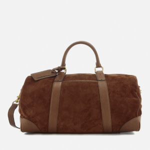 Polo Ralph Lauren Men's Duffle Bag - Suede Snuff