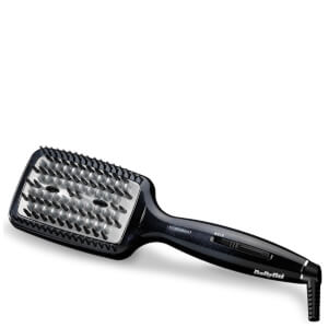 Расческа-выпрямитель BaByliss Diamond Heated Smoothing Brush — Black