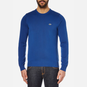Lacoste Men's Crew Neck Jumper - Steamer