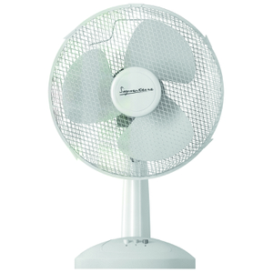 Signature S132N 16 Inch Desk Fan - White (40cm)