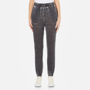 MINKPINK Women's Blackout Burnout Trackpants - Charcoal Marl