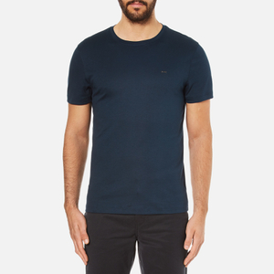 Michael Kors Men's Liquid Jersey Crew Neck Short Sleeve T-Shirt - Midnight