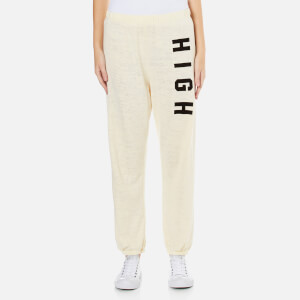 Wildfox Women's High Bottoms Easy Sweatpants - Vanilla Latte