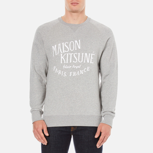 Maison Kitsuné Men's Palais Royal Sweatshirt - Grey Melange