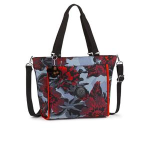 Kipling Women's Small Shopper Bag - Rose Bloom Blue