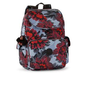 Kipling Women's City Pack Large Backpack - Rose Bloom Blue