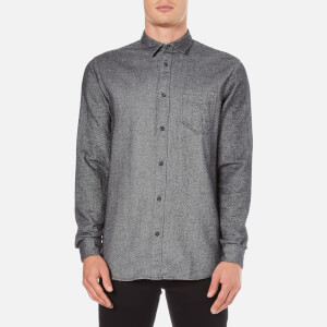Selected Homme Men's Woken Long Sleeve Shirt - Mirage Grey