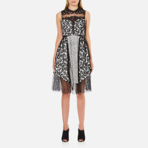 Three Floor Women's Shared Interest Dress - Black/White