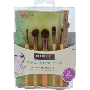 EcoTools 6 Piece Eye Brush Set Набор кистей 6 шт.