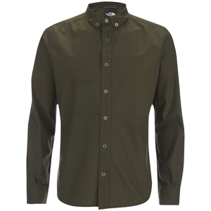 The North Face Men's Denali Long Sleeve Shirt - Rosin Green