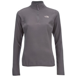 The North Face Women's 100 Glacier 1/4 Zip Fleece - Rabbit Grey