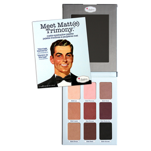 theBalm Meet Matt(e)Trimony EyeShadow Palette Палитра теней для век