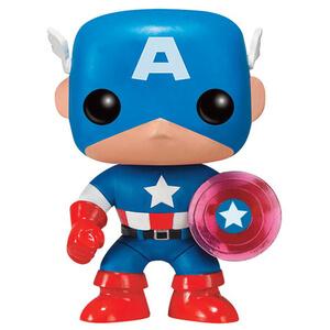 Marvel Captain America 75th Anniversary Limited Edition Pop! Vinyl Figure