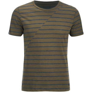 Produkt Men's Deko Asymetric Stripe T-Shirt - Beech