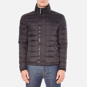 Superdry Men's Fuji Triple Zip Through Coat - Black