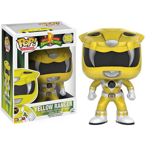 Figurine Pop! Power Rangers : Mighty Morphin Ranger Jaune