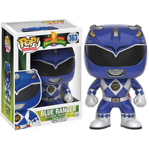 Mighty Morphin Power Rangers Blue Ranger Funko Pop! Figuur