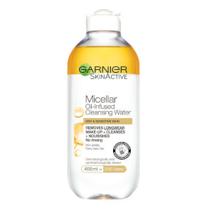 Garnier Micellar Water Oil Infused Facial Cleanser and Makeup Remover 400ml