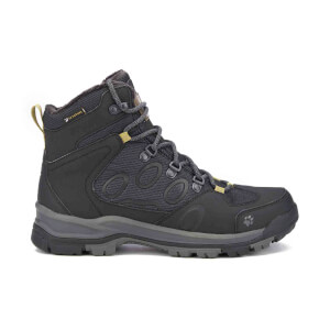 Jack Wolfskin Men's Cold Terrain Texapore Mid Boots - Black