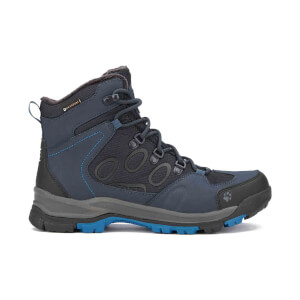 Jack Wolfskin Men's Cold Terrain Texapore Mid Boots - Night Blue