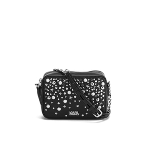 Karl Lagerfeld Women's K/Rocky Studs Small Cross Body Bag - Black