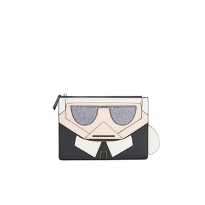 Karl Lagerfeld Women's K/Kocktail Karl Pouch - Black